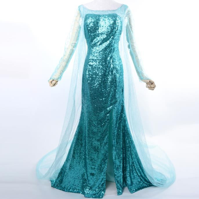 Buy elsa costume women adult ice queen adult Princess elsa dress cosplay Snow Queen costume party halloween costumes for women in Cheap Price on m.alibaba. ...  sc 1 st  Alibaba & Buy elsa costume women adult ice queen adult Princess elsa dress ...