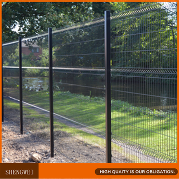 black welded wire fence. Hot Galvanized PVC Coated Nylofor 3d Black Welded Wire Fence Mesh Panel