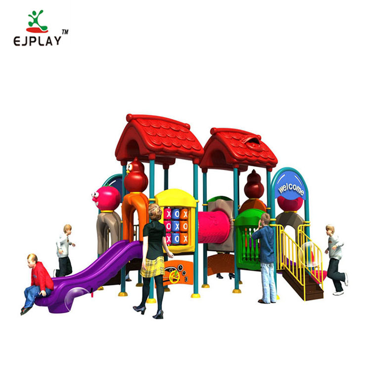 Colorful Children Commercial Outdoor Playground Equipment Children'S Garden Playground