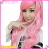 Wholesale Pink Chest Long Inclined Bang Girl Synthetic Wig