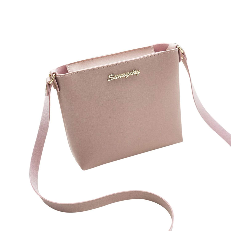 ce4ec254aed COOKI Womens Purses and Handbags Ladies Simple Style Fashion PU Leather  Crossbody Handbags Designer Satchel Tote