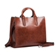 Trendy designer casual hand bag faux leather woman handbag