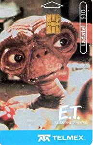 E.T. The Extra Terrestrial Mexican Ladatel Phone Card E.T. El Extraterrestre