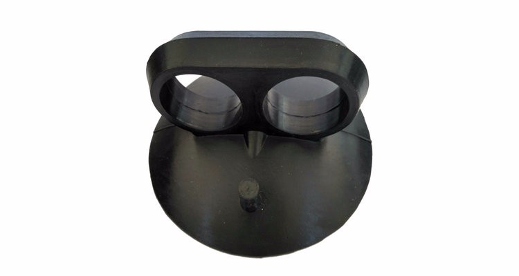 3-1/4 & 5 Inch Rubber Suction Cup for Glass