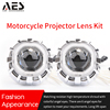 AES MT bixenon kit for motorcycle HID projector lens motor headlamps moto tail lights LED angel eye