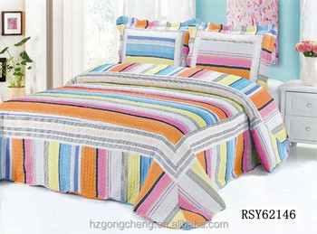 High Quality Wholesale Hot Sale In Arab Handmade Patchwork Bed Sheet Designs Quilts For  Adult Beds With Pillow