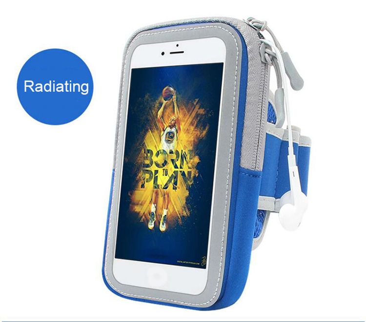 Multifunctional Outdoor Sports Armband Casual Arm Package Bag Cell Phone Bag Key Holder For iphone6P7P 8