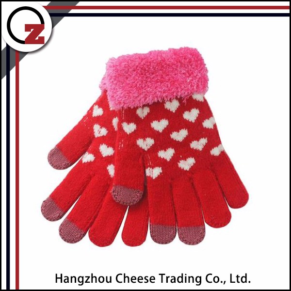 Reasonable price wholesale smartphone touch sensitive screen gloves