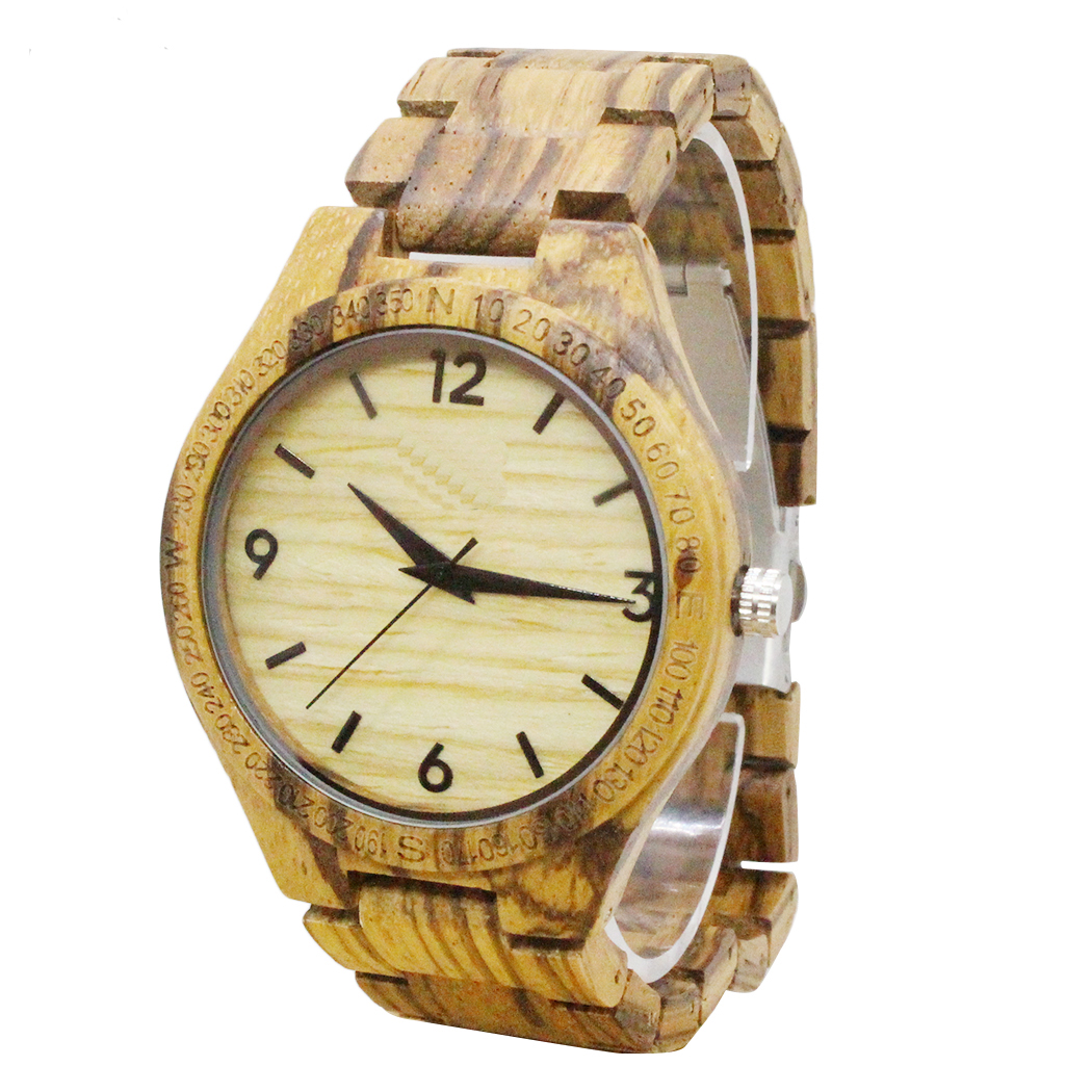 2018 Popular Maple Wooden Watch Rome Dials China Factory Direct Sale Manufacturer Wood Wrist Watch Men And Women