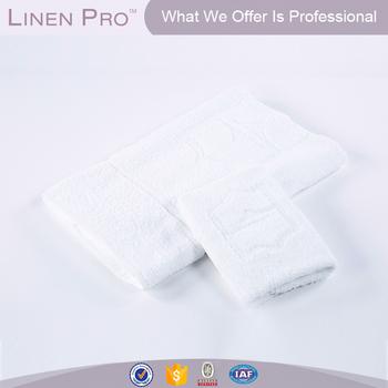 2017 new star hotel bath towel cotton white satin large white hyatt