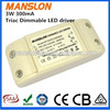 Ali express Meanwell LED Power supply CE approved dimmable LED driver constant current 300mA 320mA 350mA