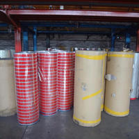 China suppliers BOPP adhesive jumbo roll holographic tape
