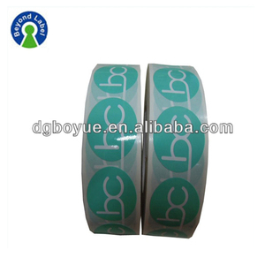 Customized Printed Waterproof Vinyl Self Adhesive Logo Sticker, Fancy Heavy Duty Adhesive Label