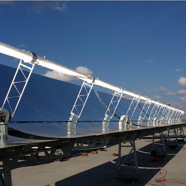 Vicot solar parabolic trough collector reflector mirror