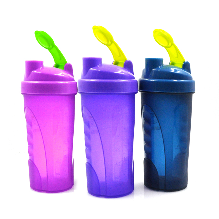 600ml 20oz Large Capacity Proteins Shaker Joyshaker,New Premium Milk Shaker With Spring Metal Ball,Hot In Canada