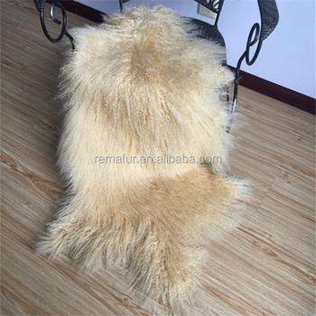 2017 Like Hot Cakes Mongolian Lamb Fur Skin Tibet Pelt From China