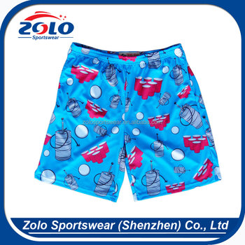 Customized Sublimation Boys' Lacrosse Shorts