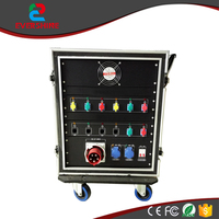 RF-LY Mobile rental power distribution cabinet applicable to the mobile stage