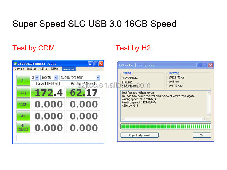 China Shenzhen Super Speed Industrial Metal SLC USB 3.0 Flash Drive Flash Memory USB3.0 16GB