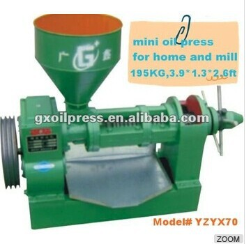 Hot sales in asia and afican GUANG XIN small cold and hot press oil making machine