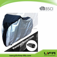2017 bicycle cover, silver bike rain cover,high quality OEM bicycle cover