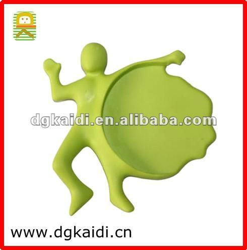 Cheapest Human Shape Splat Cup Mat for Promotion