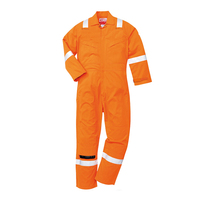 offshore high visibility EN 61482-1-2 fire retardant and esd coverall