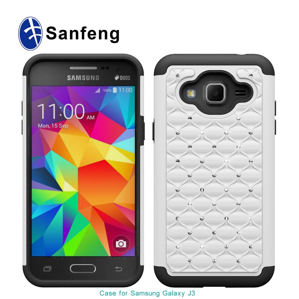 Tel fono m vil casos y cubiertas para samsung galaxy j3 for Telephone leger