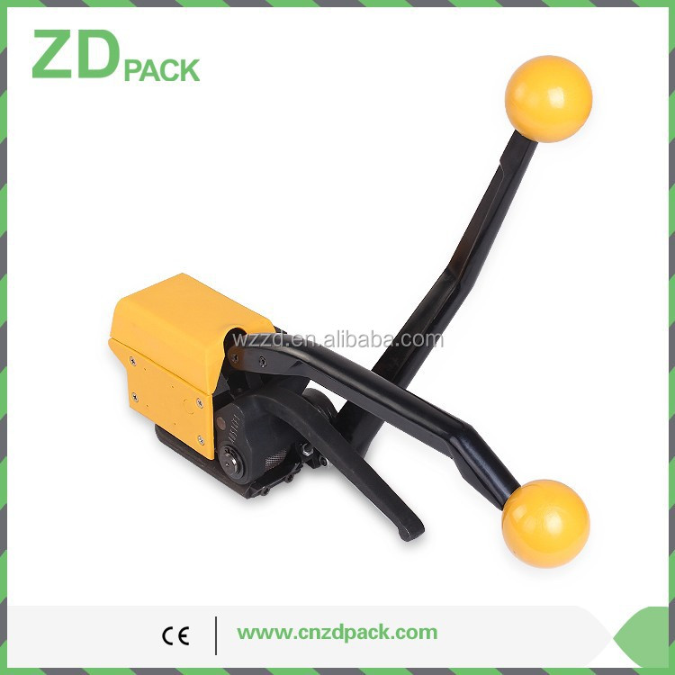 A333 Manual Sealless Steel Metal Strapping Tool Strapping Tensioner and Sealer for 13-19MM