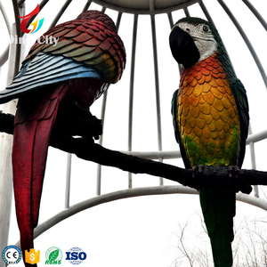 Artificial Birds Animatronic Parrot Animal for Sale