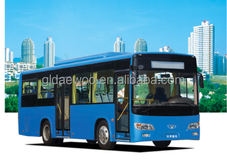 9m 27 Seats Daewoo Luxury City Bus GDW6901