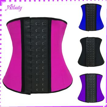 6fdb1c62d0e Hot Selling Best Quality Four Color Big Latex Waist Slimming Corset ...