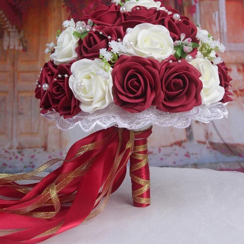 bouquet rouge roses promotion achetez des bouquet rouge roses promotionnels sur. Black Bedroom Furniture Sets. Home Design Ideas
