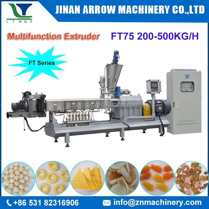 Potato Flakes Production Line and Fried Pellet Making Machine