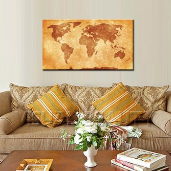 Vintage Wood World Map Wall Hanging Decoration - Buy Wall Hanging ...