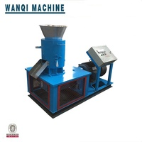 2019 wanqi brand pto wood pellet mill/rice husk pellet press/wood shaving pellet machine