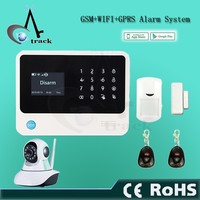 High quality iOS&Android APP control auto-dial alert GSM home alarm system host with SOS emergency help