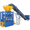 QTF4-24 automatic top sale fly ash cement hollow block brick making machine in india price
