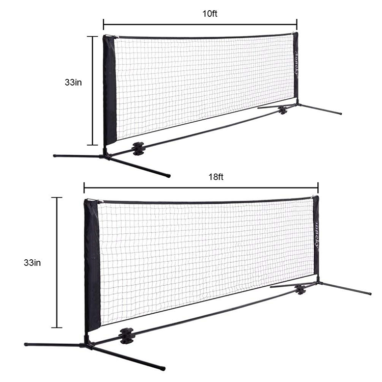 Professional Supplier Portable Foldable Training Practice Tennis Net Post