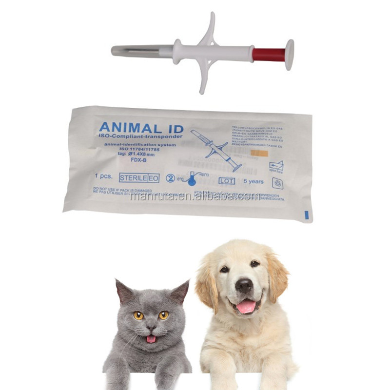 Large stock animal pet id microchip syringe ICAR approved wholesale online