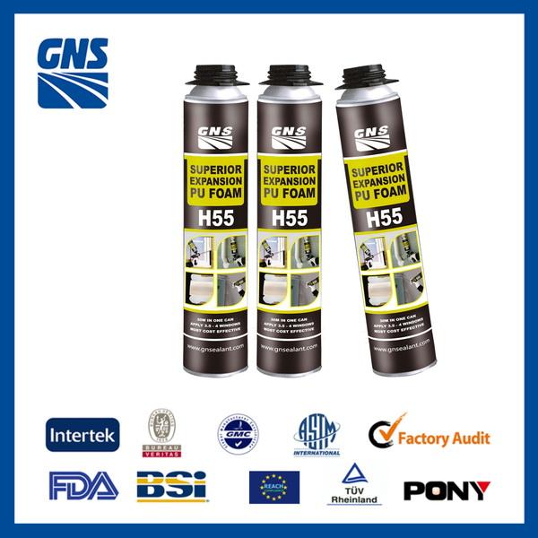 GNS H55 Excellent filling capacities fixing foam