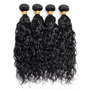 Wholesale Virgin Brazilian Hair, Cuticle Aligned Natural Wave Natural Color Brazilian Human Hair Bundles