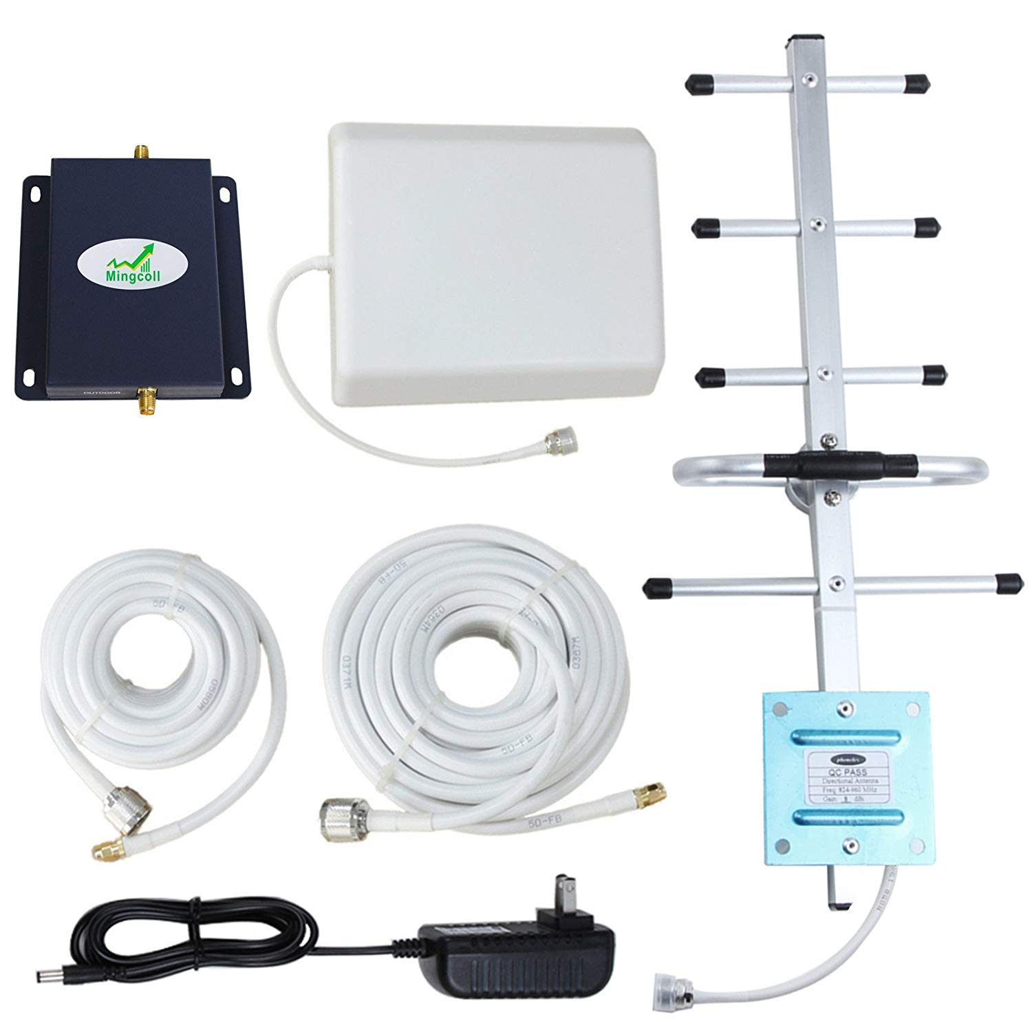 Mingcoll Verizon Mobile Signal Booster 4G LTE 700MHz Band 13 Cell Signal Booster for Home Verizon