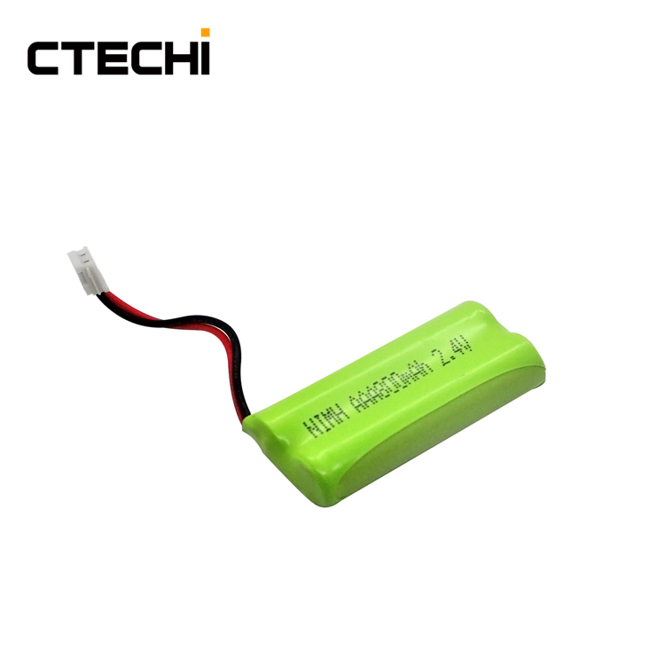 CTECHI NiMh Battery 2.4V 800mAh AAA Rechargeable Battery