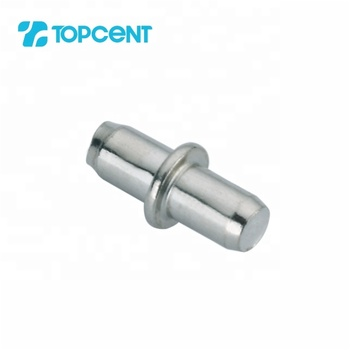 TOPCENT 5mm/6mm furniture metal cabinet cupboard invisible hidden shelf support pins