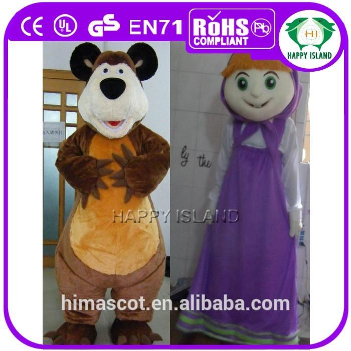 Finden Sie Hohe Qualität Masha Und Der Bär Kostüm Hersteller Und