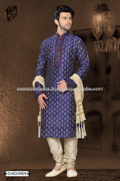 churidar indígena kurta payjama vestidos de novia de la india- Ropa ...