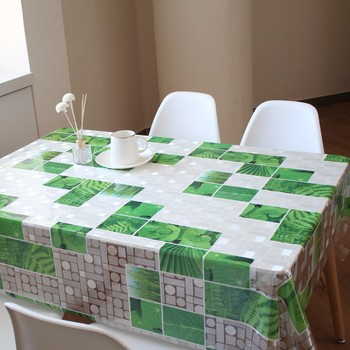 Manufacturer wholesale eco-friendly oil proof heat resistant pvc sheet printed pvc table cloth
