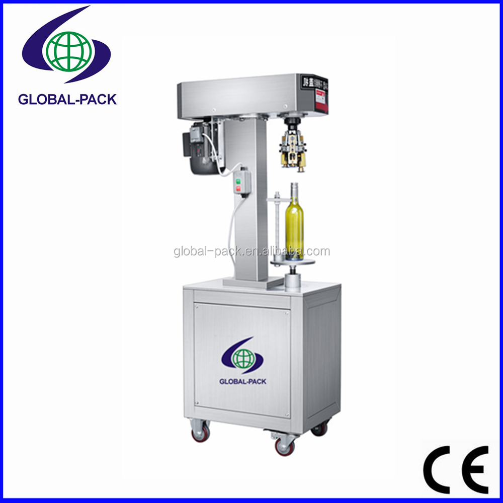 GXGB-3 Semi automatic glass jar plastic bottle capper capping machines