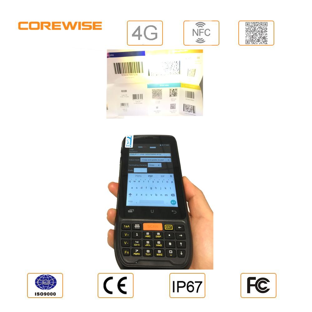 Cfon600 1d /2d Laser Barcode Scanner Built-in Android Smart Phone - Buy  Laser Barcode Scanner,2d Barcode Scanner,Barcode Scanner Android Product on